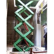 Подъемник 1,5т. Платформа 1,8х1,2м. Подъем 4м. фото