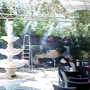 Туманобразователь для охлаждения террас, кафе, летников, ресторанов (открытых пространств) фото