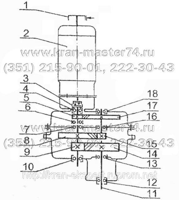 Редуктор поворота У3515.42