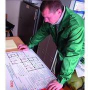Разработка и изготовление планов эвакуации при пожаре фото