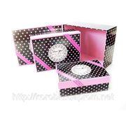 Подарочная коробка W8187 (3шт. в комплекте) фото