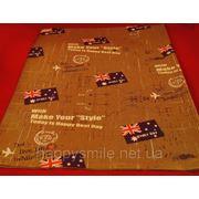 Упаковочная бумага, бумага для упаковки подарков 649-05 фото