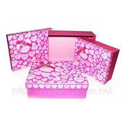 Подарочная коробка W8426 (3 шт.в комплекте). Розничная продажа на www.korobki-roznitsa.uaprom.net фото