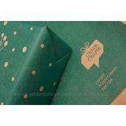 Подарочная крафт бумага (разные цвета) фото