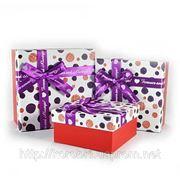 Подарочная коробка W8508 (3 шт.в комплекте). Розничная продажа на www.korobki-roznitsa.uaprom.net фото