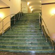 Лестницы с каменными ступенями фото