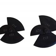 Шаблоны на галтели оси колесной пары ШГО-ВЛ60 фото
