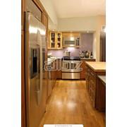 Кухни деревянные под заказ. фото