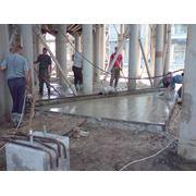 полы бетонные фото