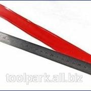 Линейка-уровень 600мм металлическая пластмас.ручка М30573 фото