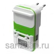 Универсальное Зарядное устройство сеть/авто лягушка с дисплеем 86912
