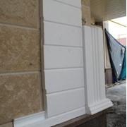Фасадные тепло-панели и декор элементы любой сложности из ППС-35 толщ.50мм без покрытия(конструктор) от 15.5 EUR за 1 м2.с монтажом ,покрытием и покраской-под ключ от 30 EUR фото