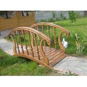 Мостики деревянные,мостики декоративные,садовые. фото