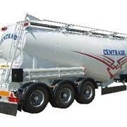 Полуприцепы цементовозы (Полуприцеп для перевозки сыпучих грузов) фото
