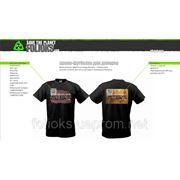Промо-футболка для дилеров Фолиокс фотография