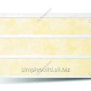 Вагонка ПВХ «Альта-Профиль», 242 жёлтая фото