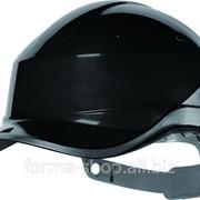 Каска Diamond черная с светоотражающей полосой фотография