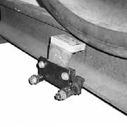 Датчики электронные фиксации прохода колесных пар  фото