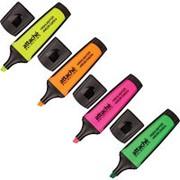 Маркер выделитель текста Attache Selection Neon Dash 1-5мм наб.4цв. фото