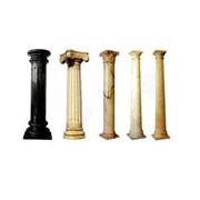 Колонны из натурального камня (гранит, мрамор), производство, изготовление, монтаж, Киев, Украина