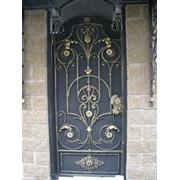 Кованые двери фото