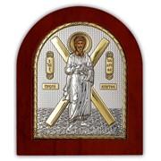 Икона Апостол Андрей серебряная с позолотой Silver Axion 260 х 310 мм фото