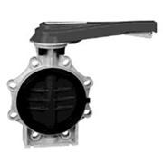Дисковый затвор Praher K4 PVC-U (ПВХ) DN 65-200 мм фото