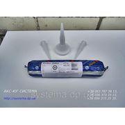 Sikaflex®-295 UV. Полиуретановый клей для приклейки пластиковых стекол в морском применении, черный, 400 мл фото