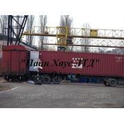 Перевалка грузов из одного вида транспорта на другой фото