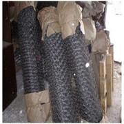 Плетеная сетка Рабица фото