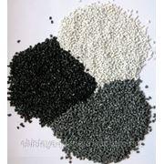 Гранула полипропиленовая Черная и Серая (Регранулят) фото