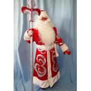 Костюм Дед Мороз Нарядный красный фото