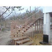Лестницы любой сложности. Металл ковка. Изготовление монтаж. фото