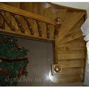 лестницы деревянные под заказ фото