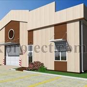 Проектирование офисных и промышленных зданий из ЛСТК фото