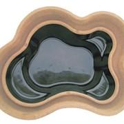 Стеклопластиковый садовый пруд Плутон 2400 П фото