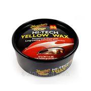 Meguiar's Hi-Tech Yellow Wax Paste. Воск Полироль для автомобиля