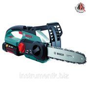 Аккумуляторная цепная пила Bosch AKE 30 LI, Бош (0600837100) фото