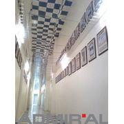 Кассетный подвесной потолок фото