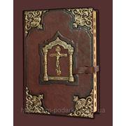 Большая библия с литьем фото