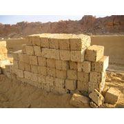 Предлагаем блоки из природного камня – ракушечник в Крыму в любых объёмах. фото