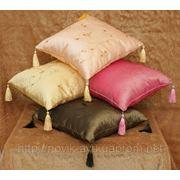 Пошив чехлов, декоративных подушек фото