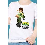 Печать на детских футболках на заказ фото