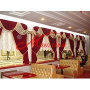 Текстильный дизайн ресторанов, кафе, баров фото