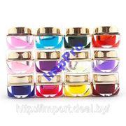 12 бутылочек с цветным гелем фото
