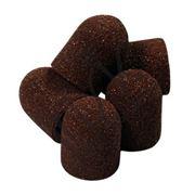 Колпачок песочный коричневый, 16,0 мм, 5 шт. (3 абразив.) фото