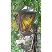 Фонари кованые с художественной символикой фонари для сада кованые садовая мебель кованая Житомир фото