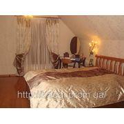 Пошив штор в спальной комнате. фото