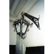 Светильники кованые. фото