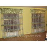 Оригинальные ламбрекены и гардины в игровой комнате. фото